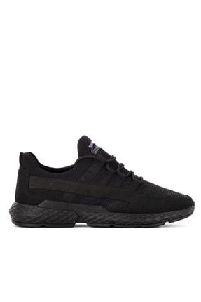 Slazenger Twın Koşu & Yürüyüş Erkek Ayakkabı Siyah / Siyah