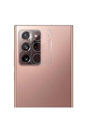 Microsonic Samsung Galaxy Note 20 Ultra Kamera Lens Koruma Camı