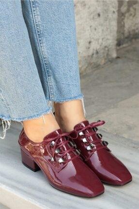 Mio Gusto Jasmine Bordo Topuklu Ayakkabı