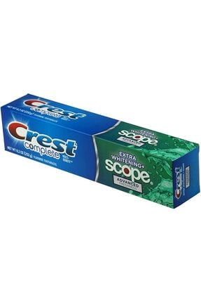 CREST Complete Scope Advanced Freshness Ektra Beyazlık Diş Macunu 232gr