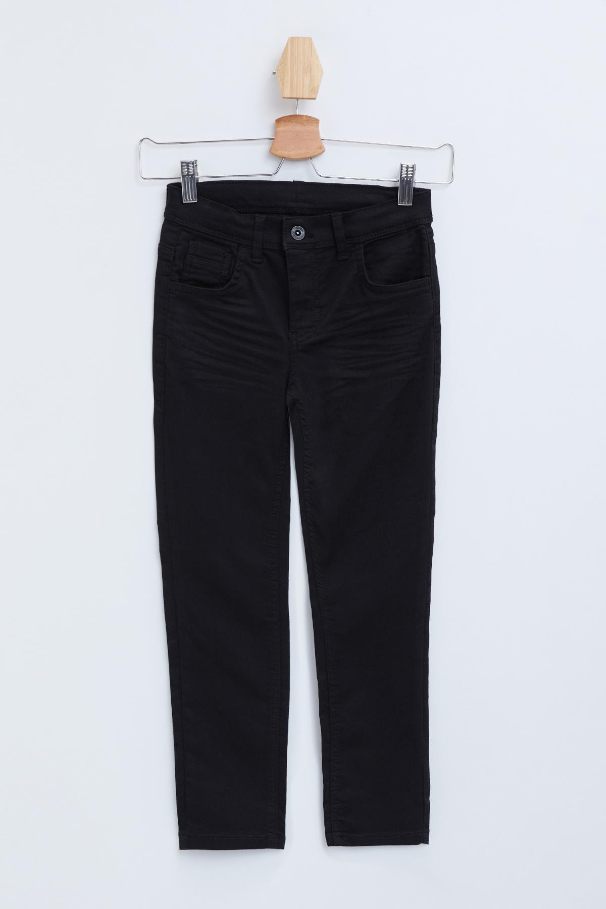 DeFacto Erkek Çocuk Siyah Kot Pantolon