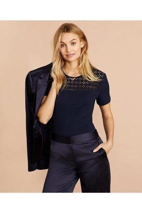 BROOKS BROTHERS Supima® Kadın Lacivert Bluz