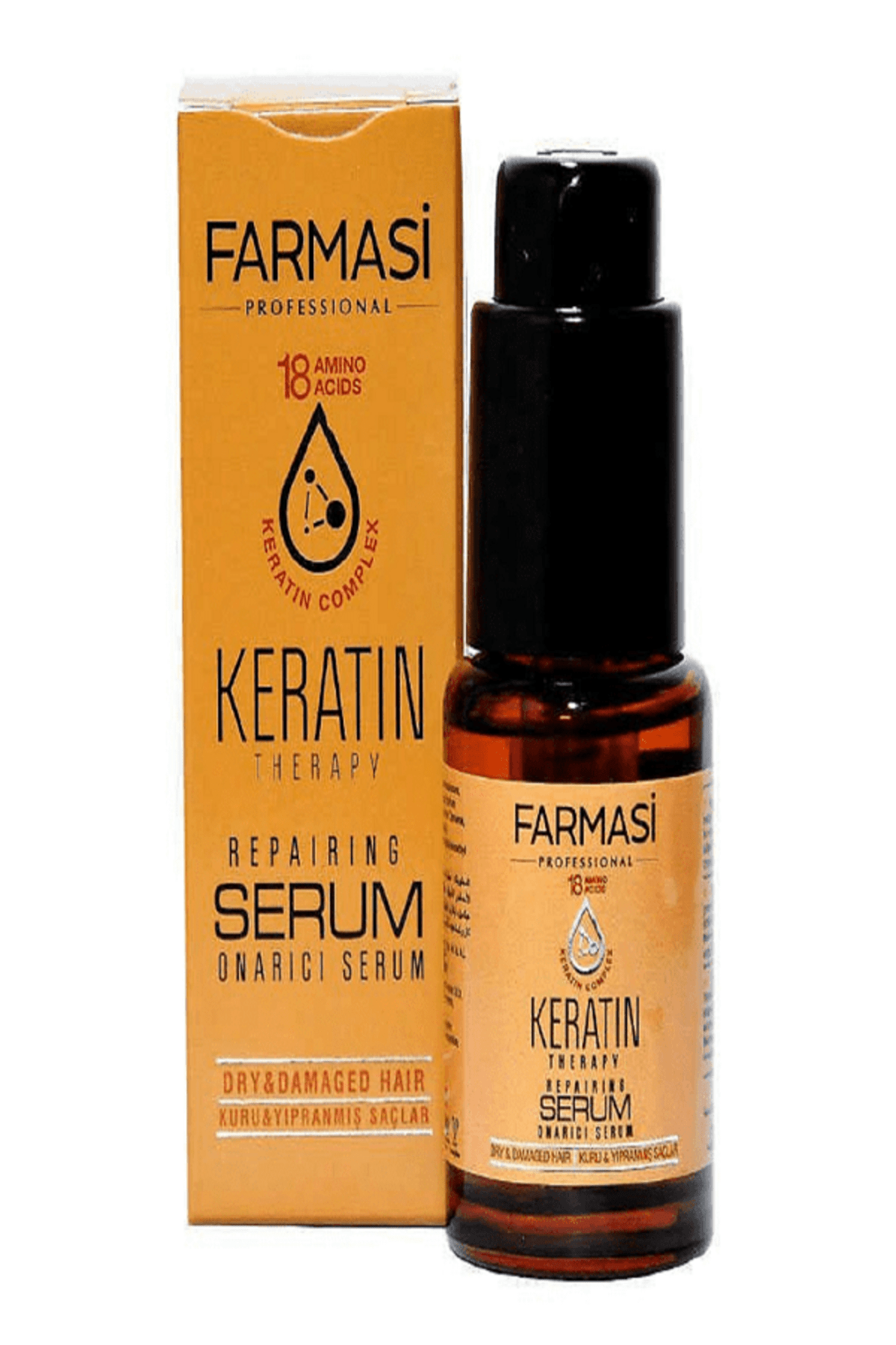 Farmasi Keratin Onarıcı Serum 30 ml.