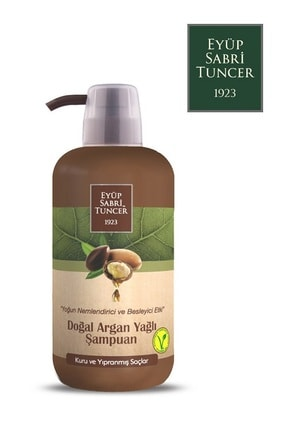 Eyüp Sabri Tuncer Doğal Argan Yağlı Şampuan 600 ml 8691685013182