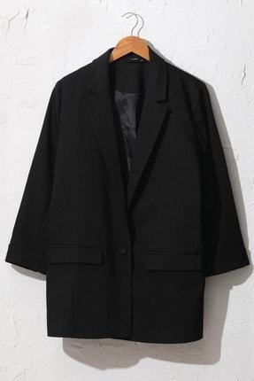 LC Waikiki Kadın Siyah Ceket 0WDI42Z8