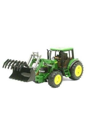 TURKUAZ Bruder Oyuncak John Deere 6920 Kepçeli Traktör Br02052