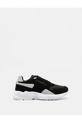 Koton Erkek Siyah Sneaker 1KAM20001AA