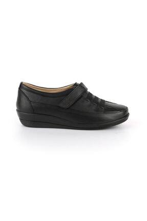 DİA COMFORT Kadın Siyah Diacomfort Victoria Ortopedik Hakiki Deri Ayakkabı
