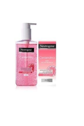 Neutrogena Canlandırıcı Temizleme Jeli 200 ml+ Nemlendirici 50 ml