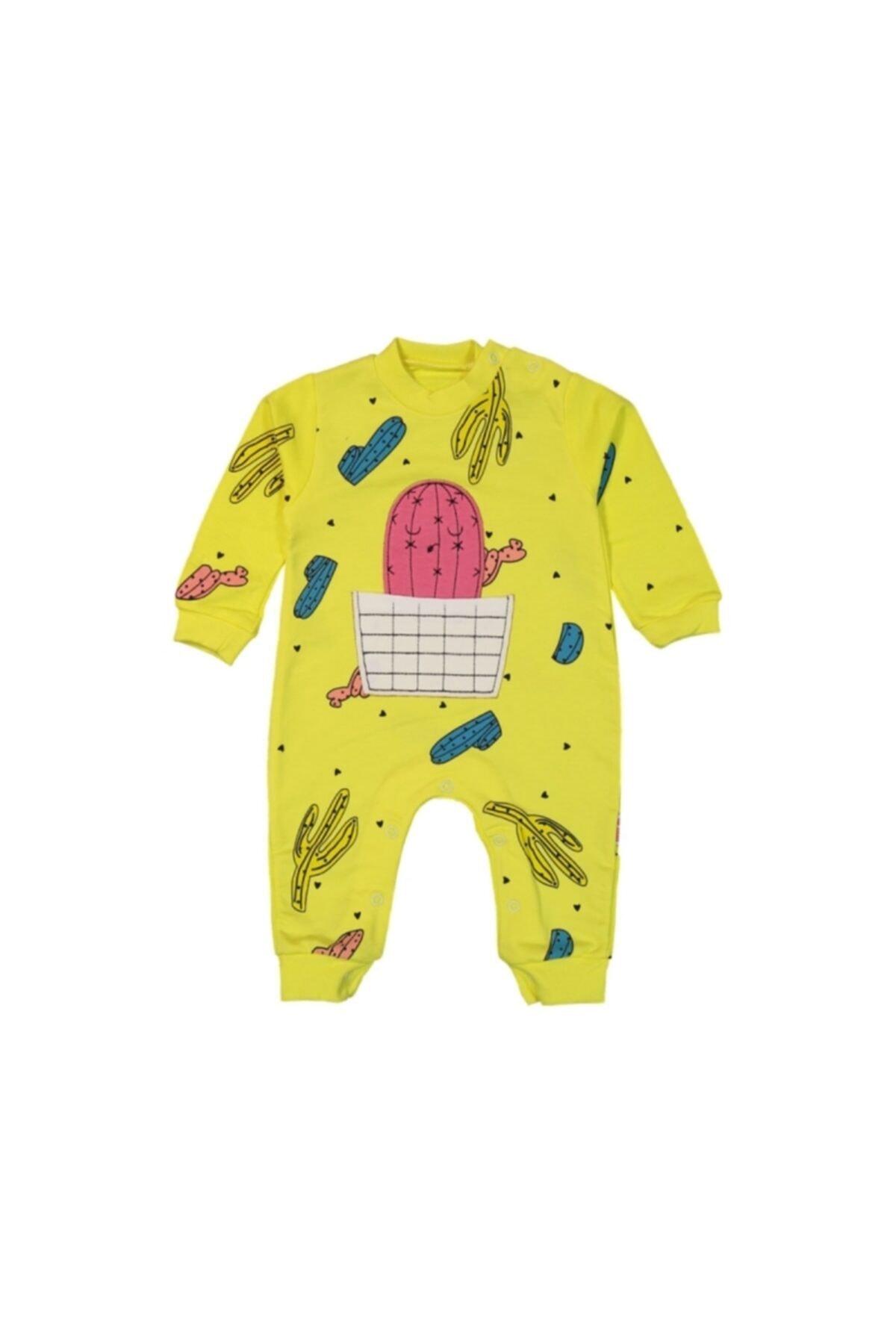Murat Baby Kaktüs Nakışlı Tulum 1