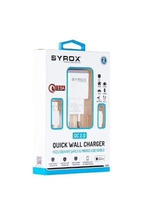 Samsung Syrox Hızlı Şarj Cihazı 2.0a - Yeni Syx-q20