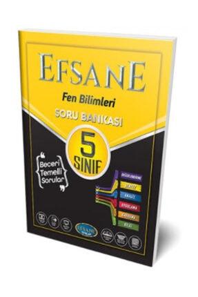 Efsane Yayınları 5. Sınıf Fen Bilimleri Soru Bankası
