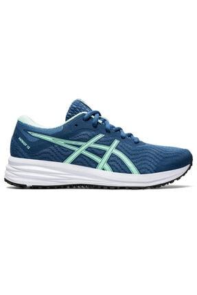 Asics Kadın Mavi Patriot 12  Koşu Ayakkabısı 1012a705-400