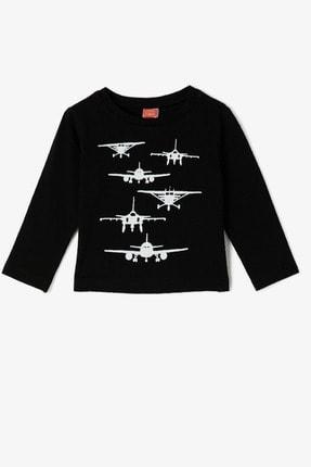 Koton Kids Siyah Erkek Bebek T-Shirt