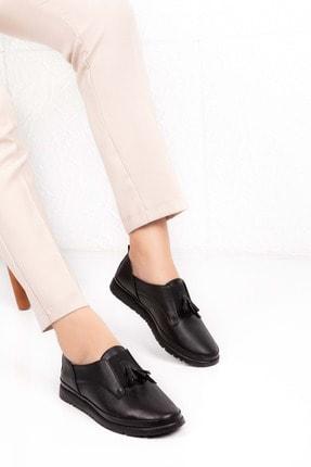 Gondol Içi Dışı Hakiki Deri Yumuşak Dokulu Günlük Ayakkabı-iz.4106k - Siyah - 41