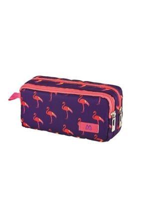 Mikro 2034 Kalemlik Flamingo Kalem Kutusu Çift Gözlü
