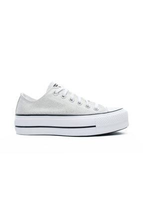 converse Chuck Taylor All Star Lift Ox Kadın Gri Sneaker