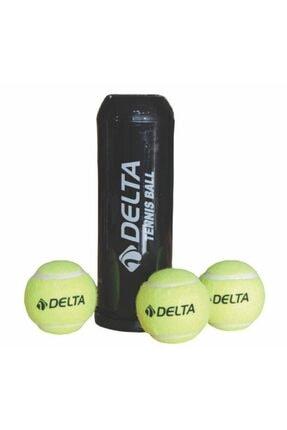 Delta Sarı Vakumlu Tüpte 3'lü Tenis Topu