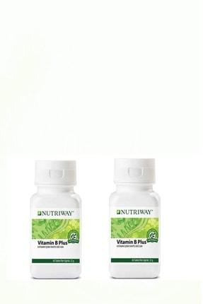 Amway Nutrıway Vitamin B Plus 60 Tablet x 2 Adet