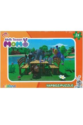 ADEL OYUNCAK Adel Trt Çocuk 24 Parça Puzzle Akıllı Tavşan Momo2