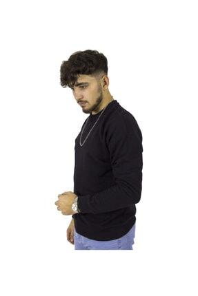Yiğit Collection Erkek Siyah Sweatshirt