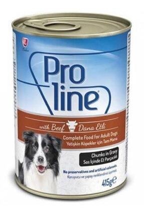 Pro Line Proline Köpek Konserve Dana Etli Sos Içinde 415 Gr_6 Adet