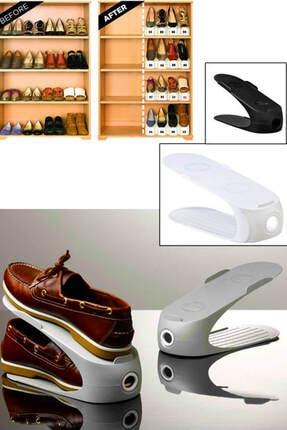 Gondol Ayakkabı Rampası (siyah) 8'li