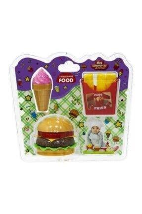 Uçar Oyuncak Mini Hamburger Seti