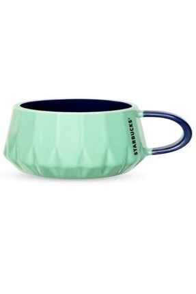 Starbucks Yeşil Renk Porselen Mug