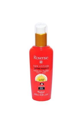 Rosense Güneş Losyonu 50 Faktör Spf 200ml