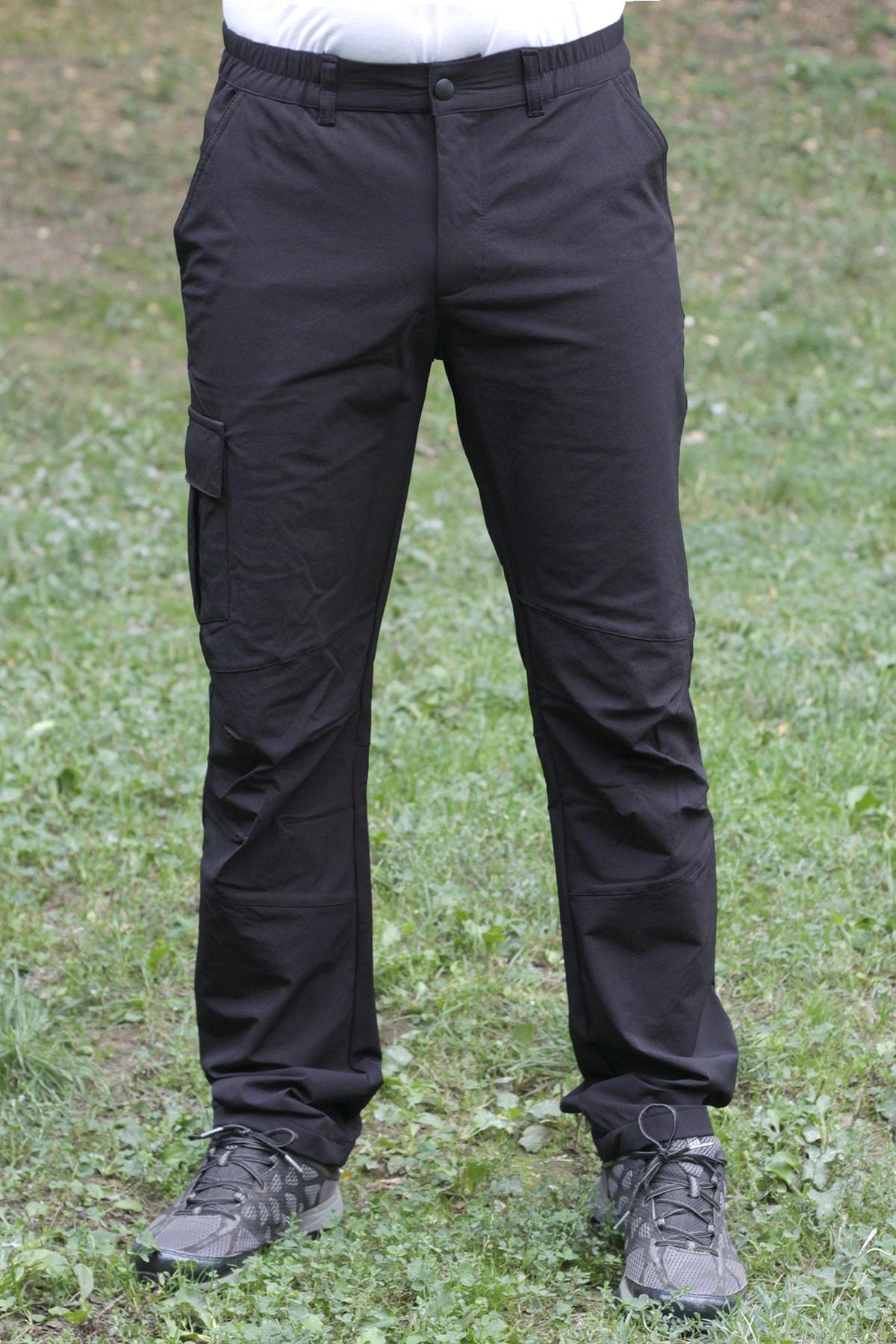 Exuma Erkek Siyah Outdoor Pantolon 2013085-010 1