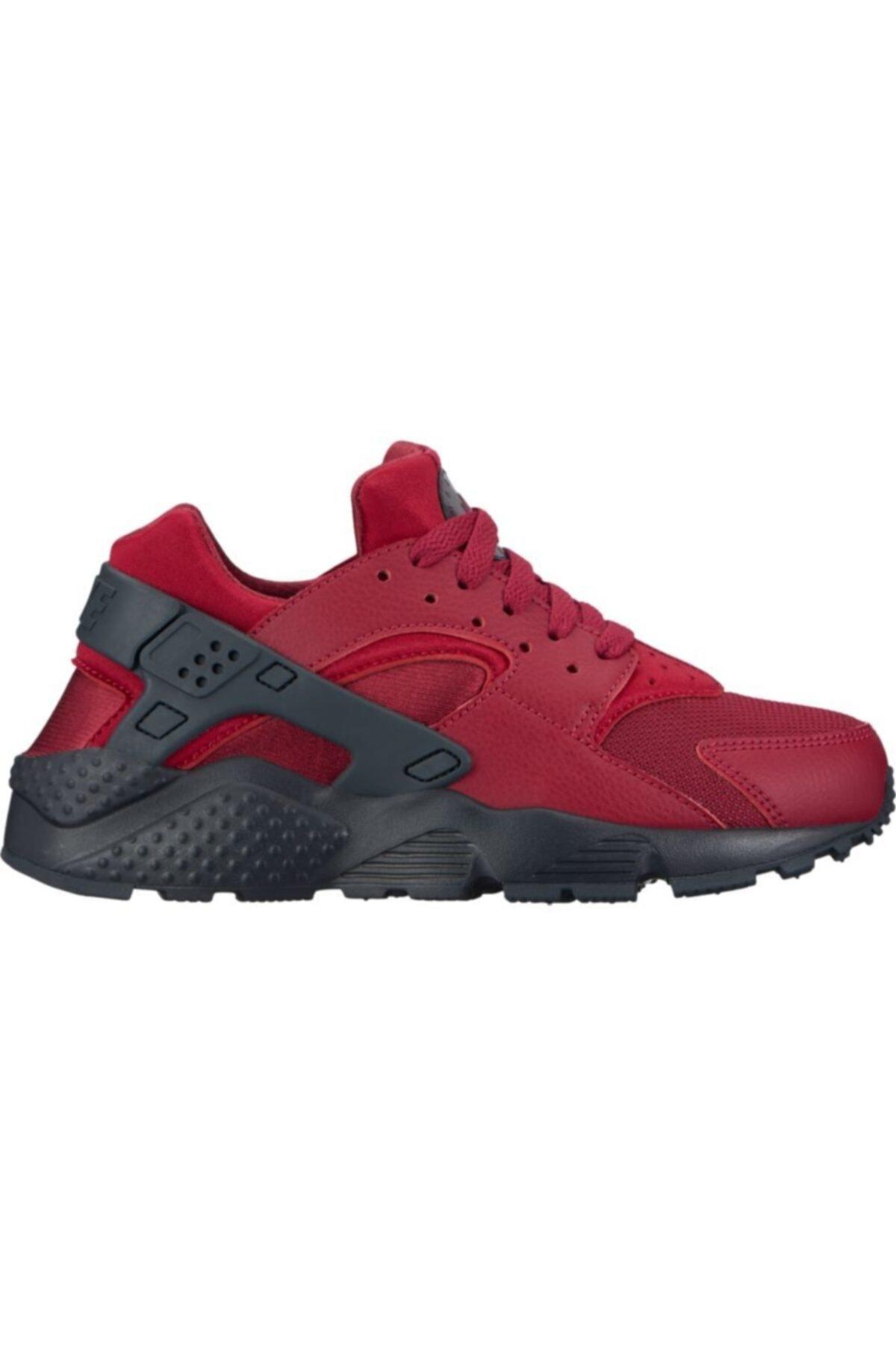 Nike Kadın Kırmızı Huarache Run (gs) Spor Ayakkabı 654275-603 1