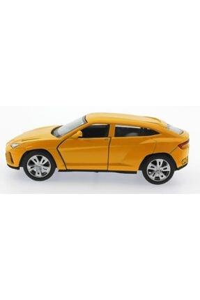MEGA Çek Bırak Sarı Metal Araba Sl6601b