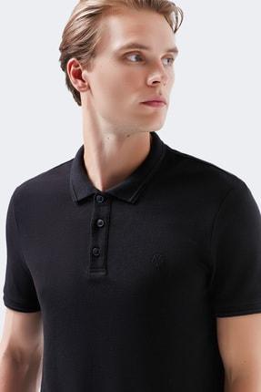 Mavi Siyah Polo Tişört
