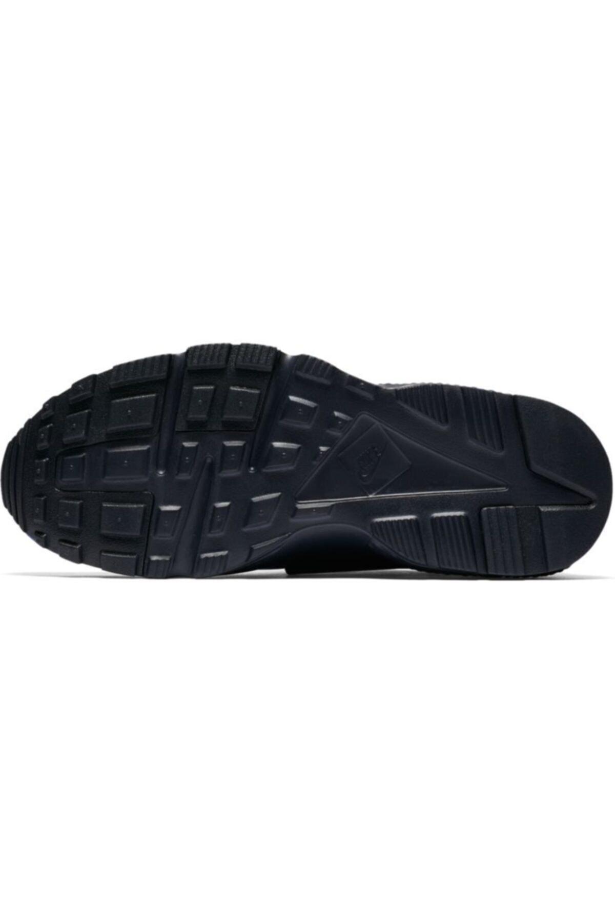 Nike Kadın Lacivert Huarache Run Spor Ayakkabı 654275-412 2