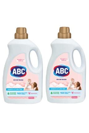 ABC Bebek Çamaşırlarına Özel 1500 mlx2 Adet Sıvı Çamaşır Deterjanı
