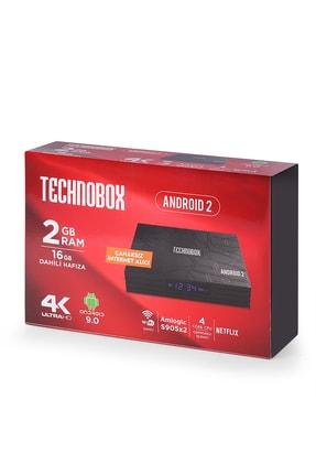 Technobox 4k Ultra Hd Android 2 Uydu Alıcısı