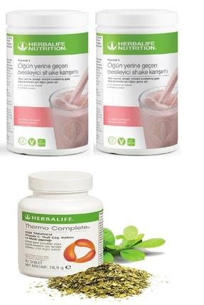 Herbalife 2 Adet Ahududu Beyaz Çikolata Shake Ve Thermo Complete