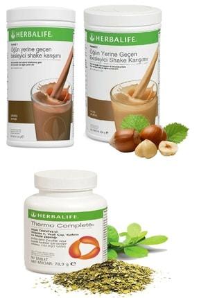 Herbalife Çikolata Shake  Fındık Shake ve Thermo Complete