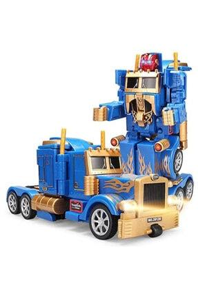 Optimus Uzaktan Kumandalı Prime Robota Dönüşen Şarjlı Tır
