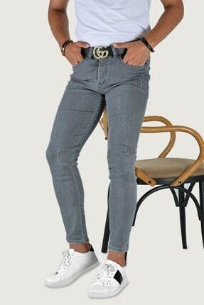 Terapi Men Erkek  Koyu Gri  Slim Fit Kot Pantolon
