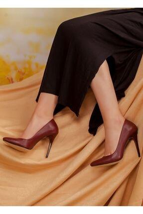 derithy Kadın Bordo Ayakkabı