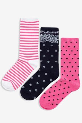 GAP 3'lü Desenli Çorap Seti