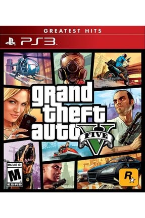 RockStar Games Grand Theft Auto 5 Ps3 Oyun