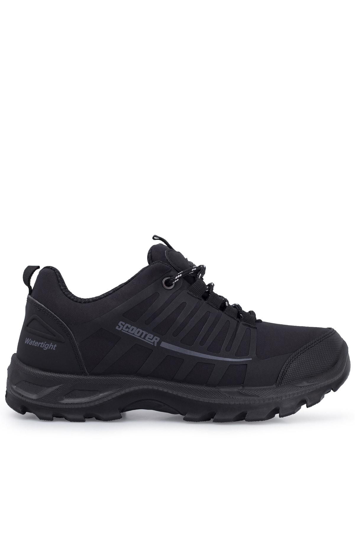Scooter Kadın Siyah Su Geçirmez Kışlık Ayakkabı 516g5232t 1
