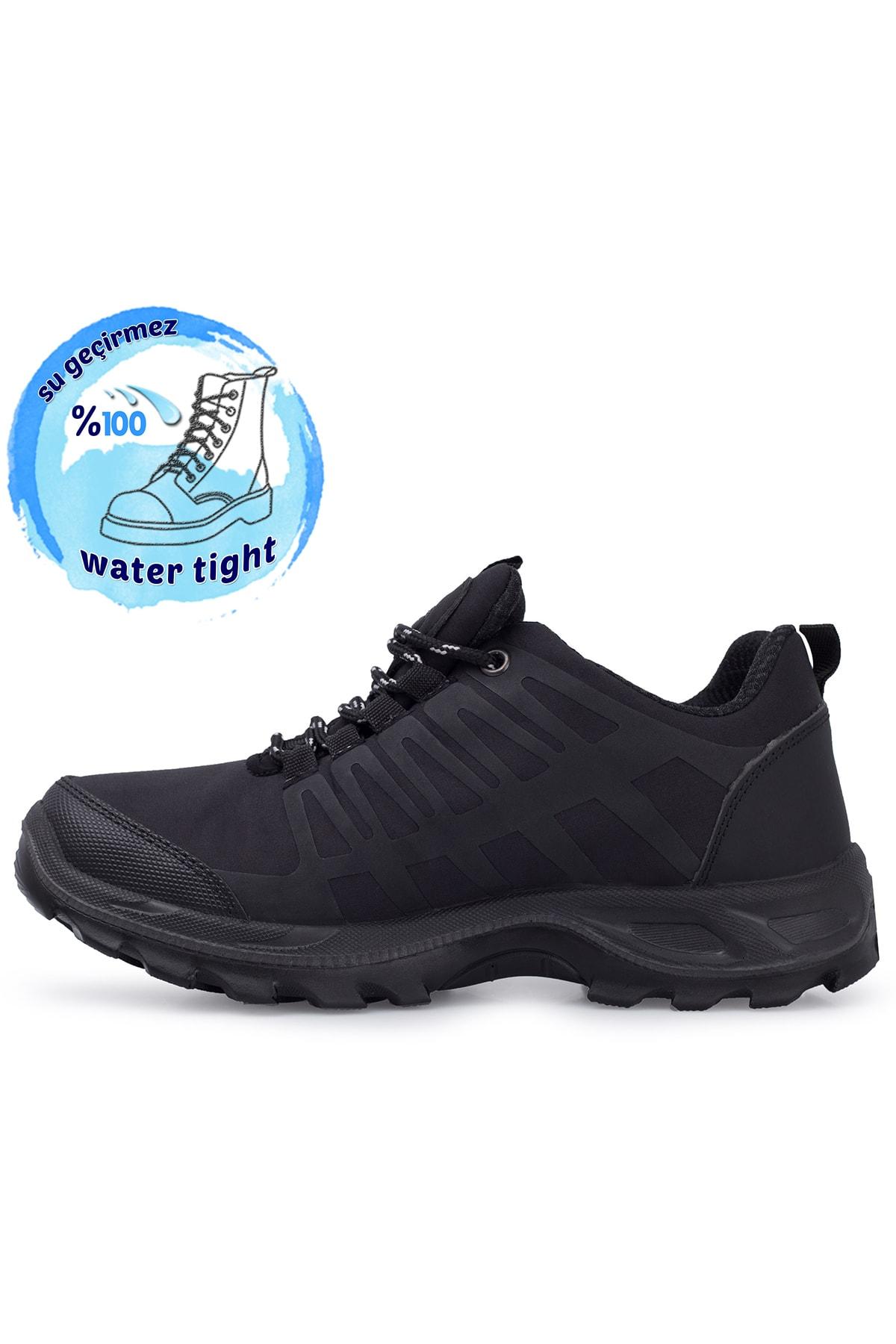 Scooter Kadın Siyah Su Geçirmez Kışlık Ayakkabı 516g5232t 2