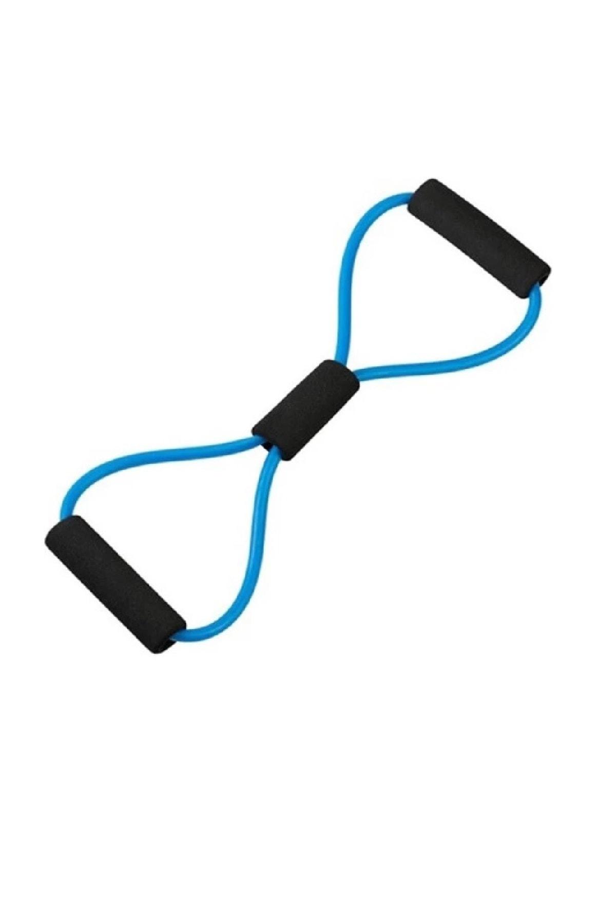 AVESSA Ayak Göğüs Lastiği Pilates Yoga Egzersiz Direnç Jimnastik Lastiği 2