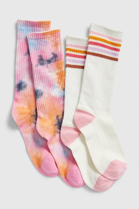 GAP Kids Kız Çocuk 2'Li Çorap Seti