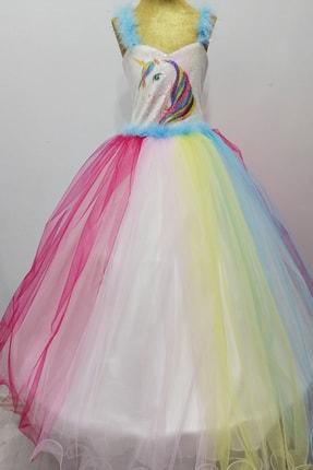 Altıntaş Giyim Kız ÇocukÇok Renkli Prenses Doğum Günü Kostümü