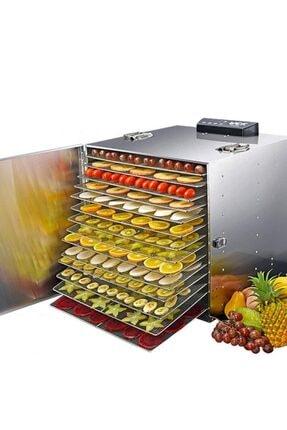 Dalbello Dalle Lt-91 Dijital, Paslanmaz Gıda Ve Meyve Kurutma Makinesi 16 Tepsili